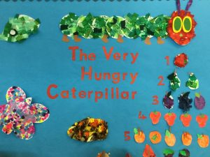 Our Very Hungry Caterpillar artwork